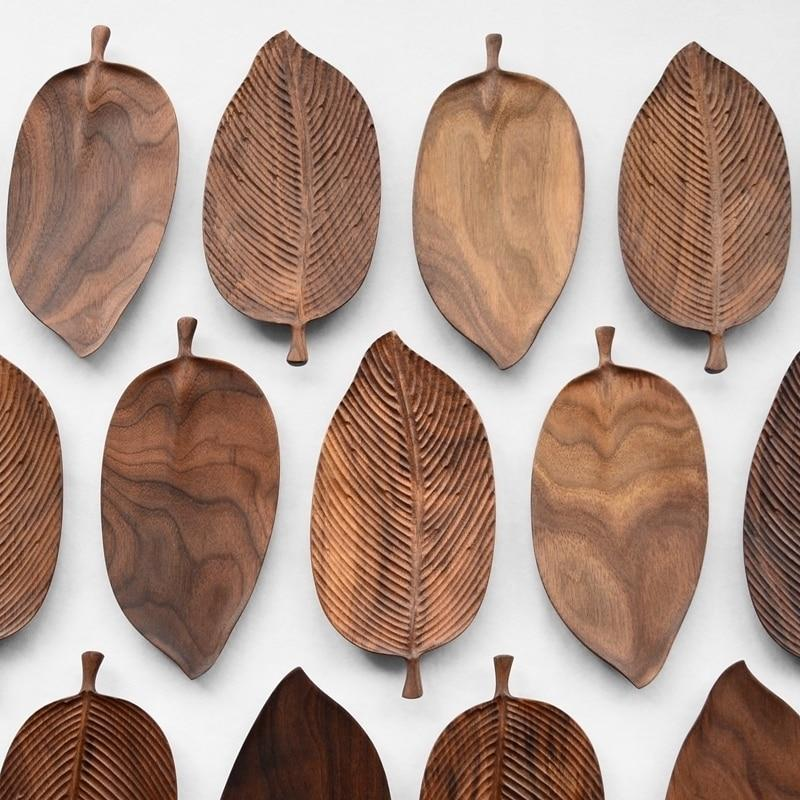 Photo of Walnut Snack Tray Leaf Plates – Walnut Snack Tray Leaf Plates # Kitchen #kit …, #kit # Kü …
