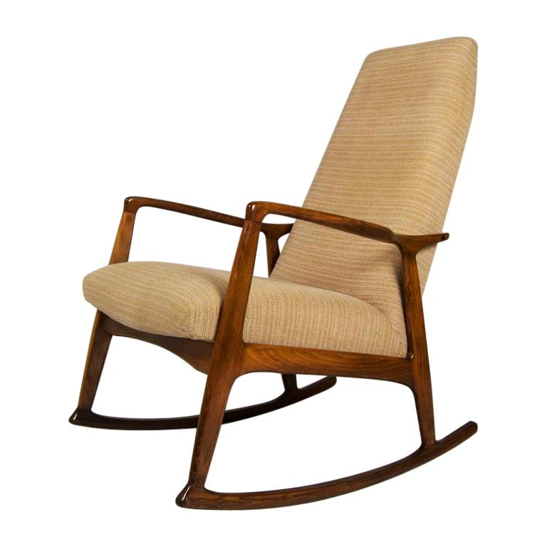 Pleasant Midcentury Danish Beech Rocking Chair 1960S In 2019 Creativecarmelina Interior Chair Design Creativecarmelinacom