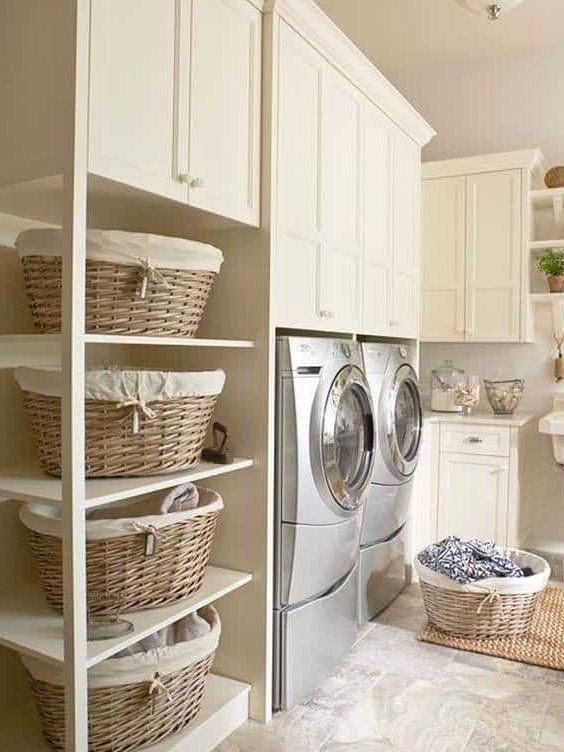 37 Amazingly clever ways to organize your laundry room #laundryroomideas