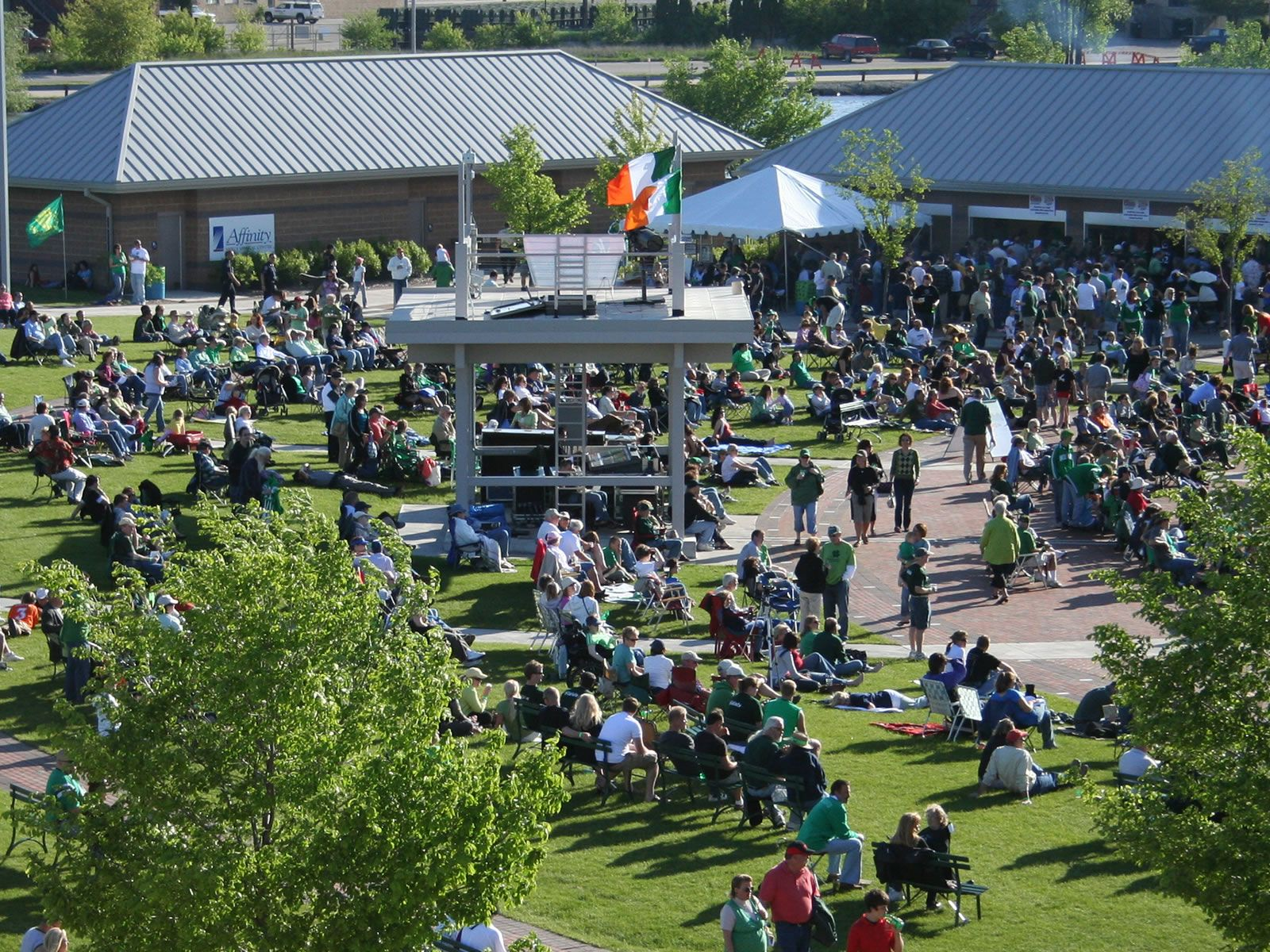 Irish Fest Leach Amphitheater Oshkosh, WI Irish Music