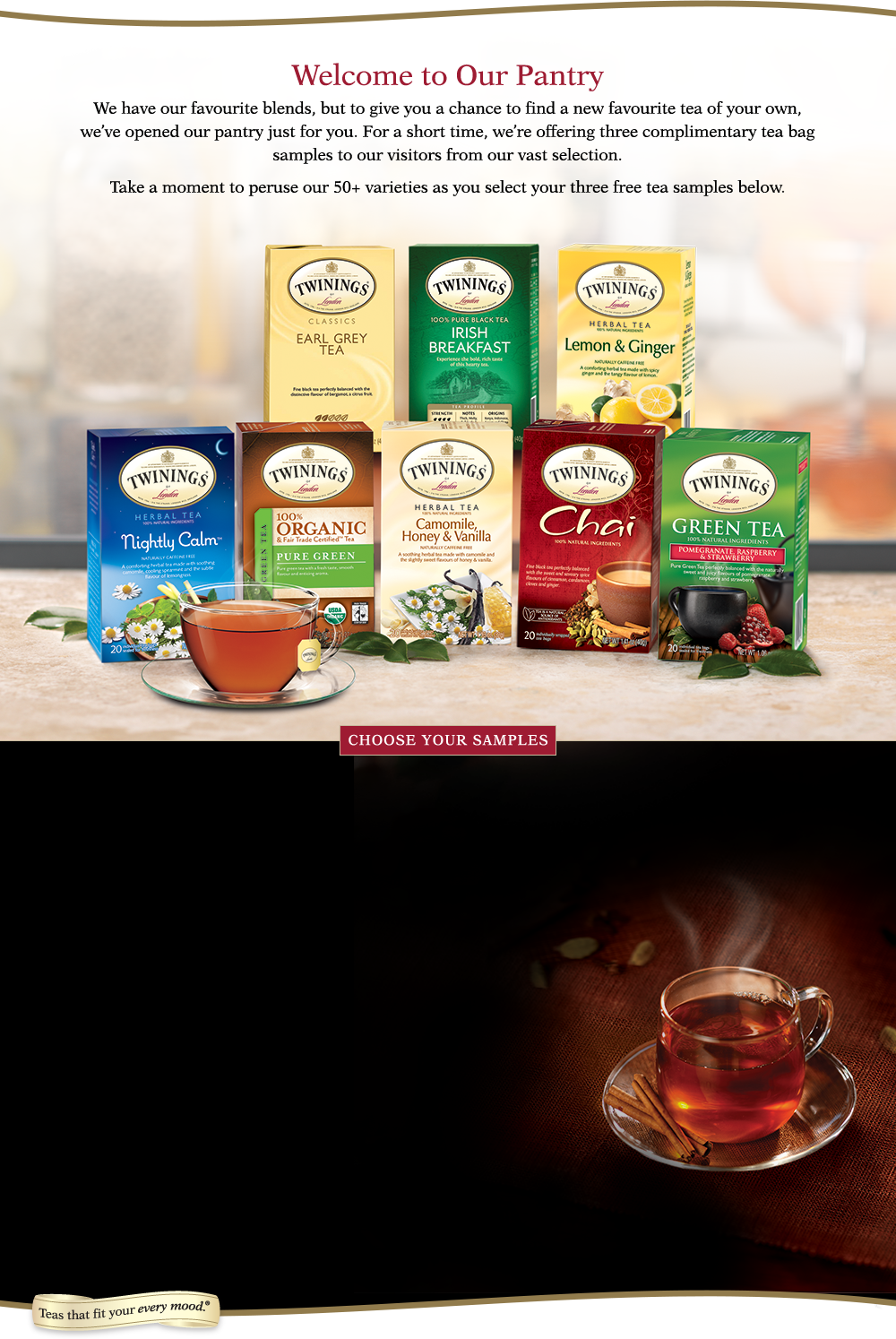 Twinings london sweepstakes