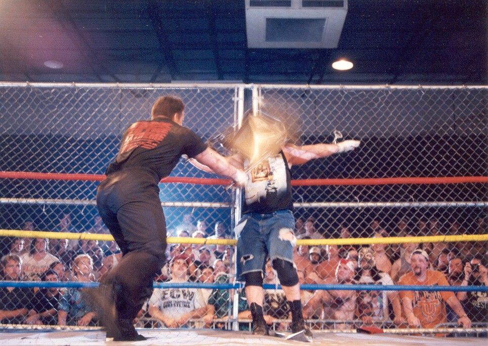 Dreamer Chairs A Handcuffed Raven Craziest Ecw Moments