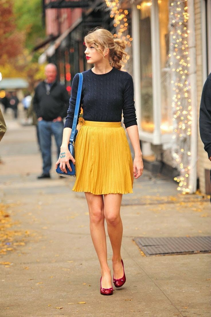 Taylor Swift Inspired Street Style