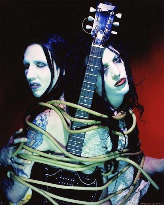 Marilyn Manson & Twiggy Ramirez.
