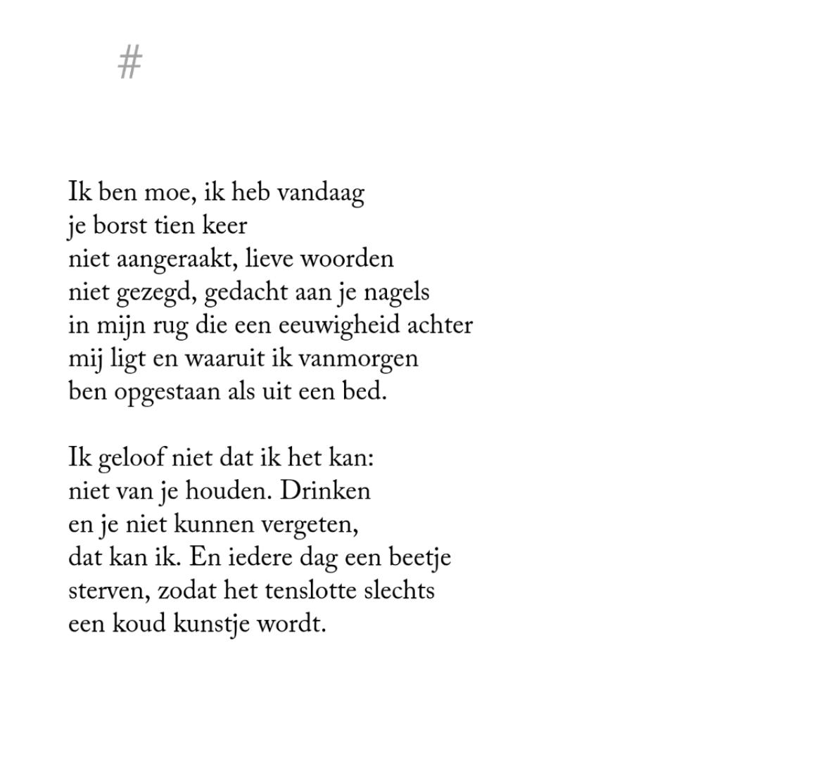 Herman De Coninck Woorden Mooie Woorden En Lieve Woorden