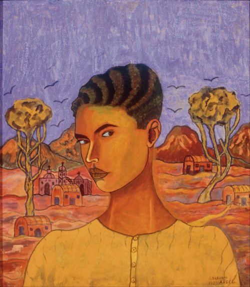 Abraham Ángel - Self-Portrait [1923]