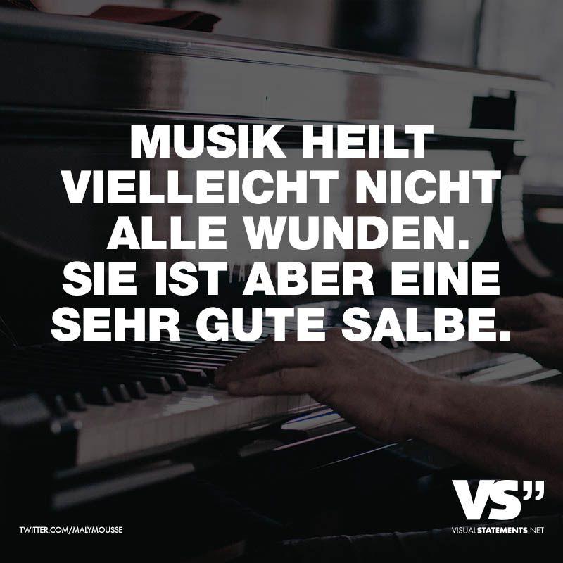 Musik heilt vielleicht nicht alle Wunden. Sie ist aber einen sehr