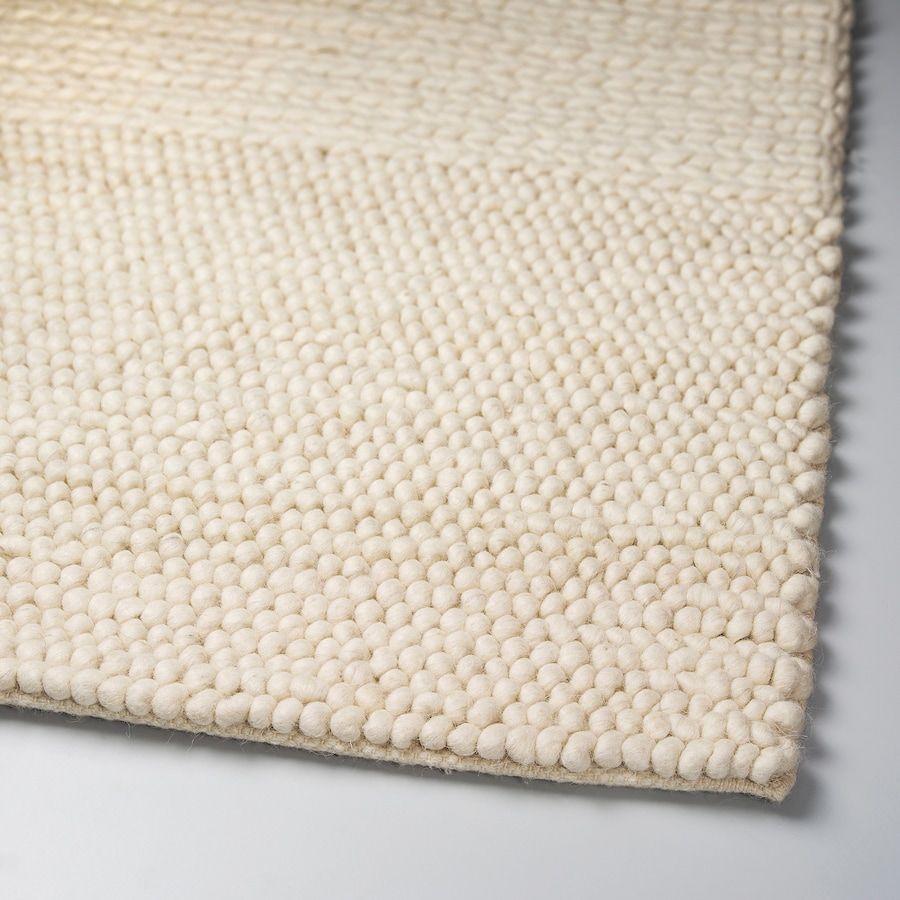 Ibsker Tapis Fait Main Blanc Casse 170x240 Cm En 2020 Tapis Faits Main Tapis Beige Et Tapis