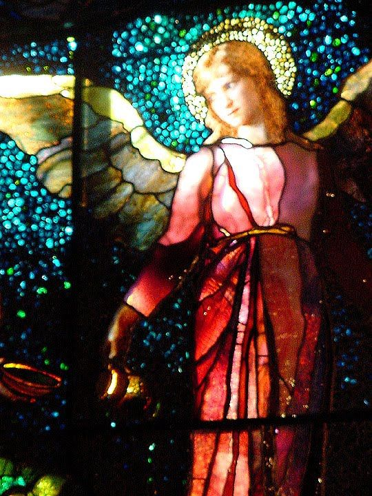 "William Morris Fan Club: Need and Sorrow and the ""Angel of Help"" -- John La Farge"