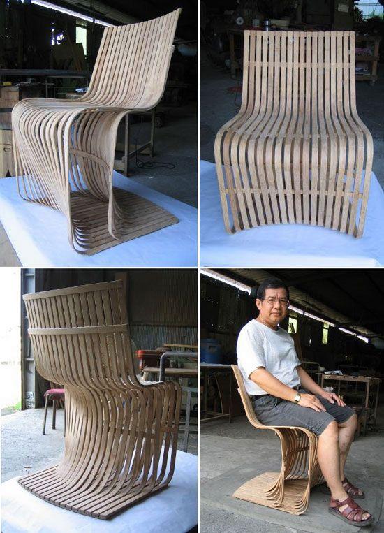 Bamboo BAMBU Y GUADUA Pinterest Bambú, Sillas modernas y Sillas - muebles de bambu modernos