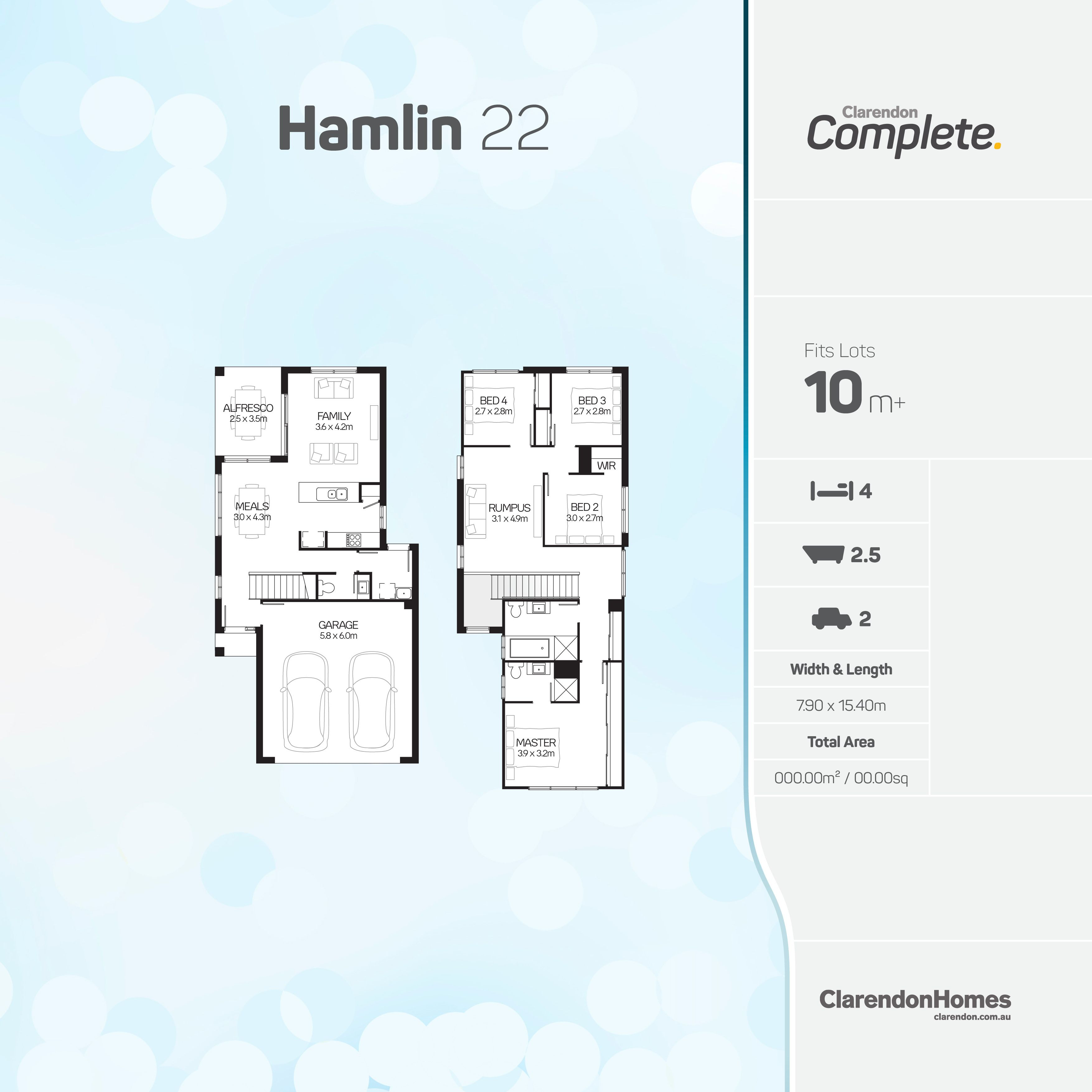 Clarendon Homes - Complete. Hamlin 22. An effcient design packed ...