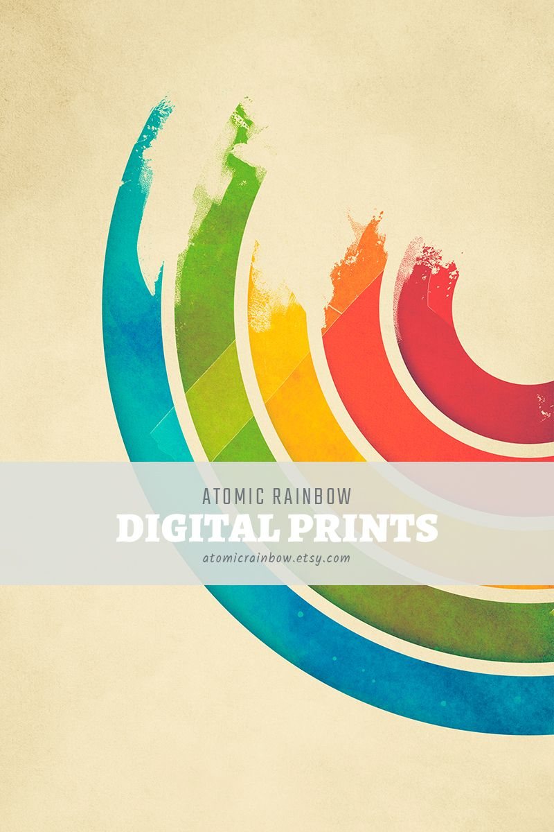 Fine Rainbow Wall Decor Pattern - Wall Art Collections ...