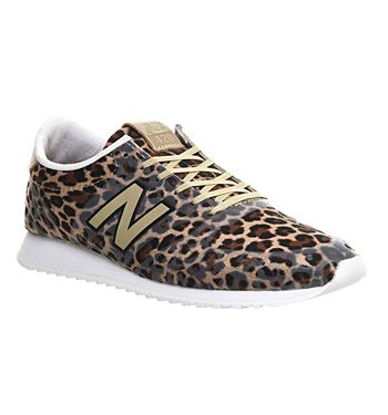 nouvelle collection 3c845 68600 New Balance 420 One Piece (w) Gold Leopard - Hers trainers ...