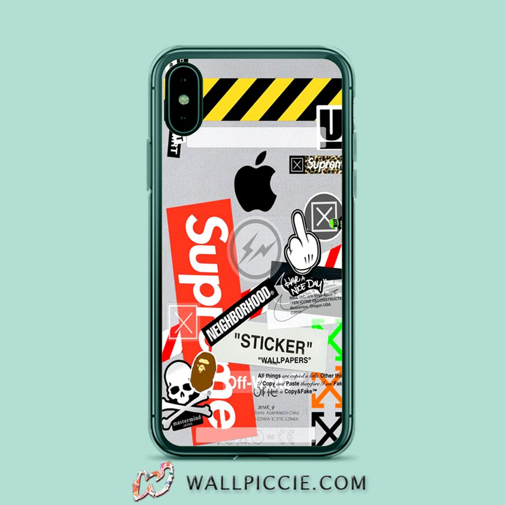 Off White Supreme Collabs Iphone Xr Case Iphone Xs Iphone 6s And More Casing