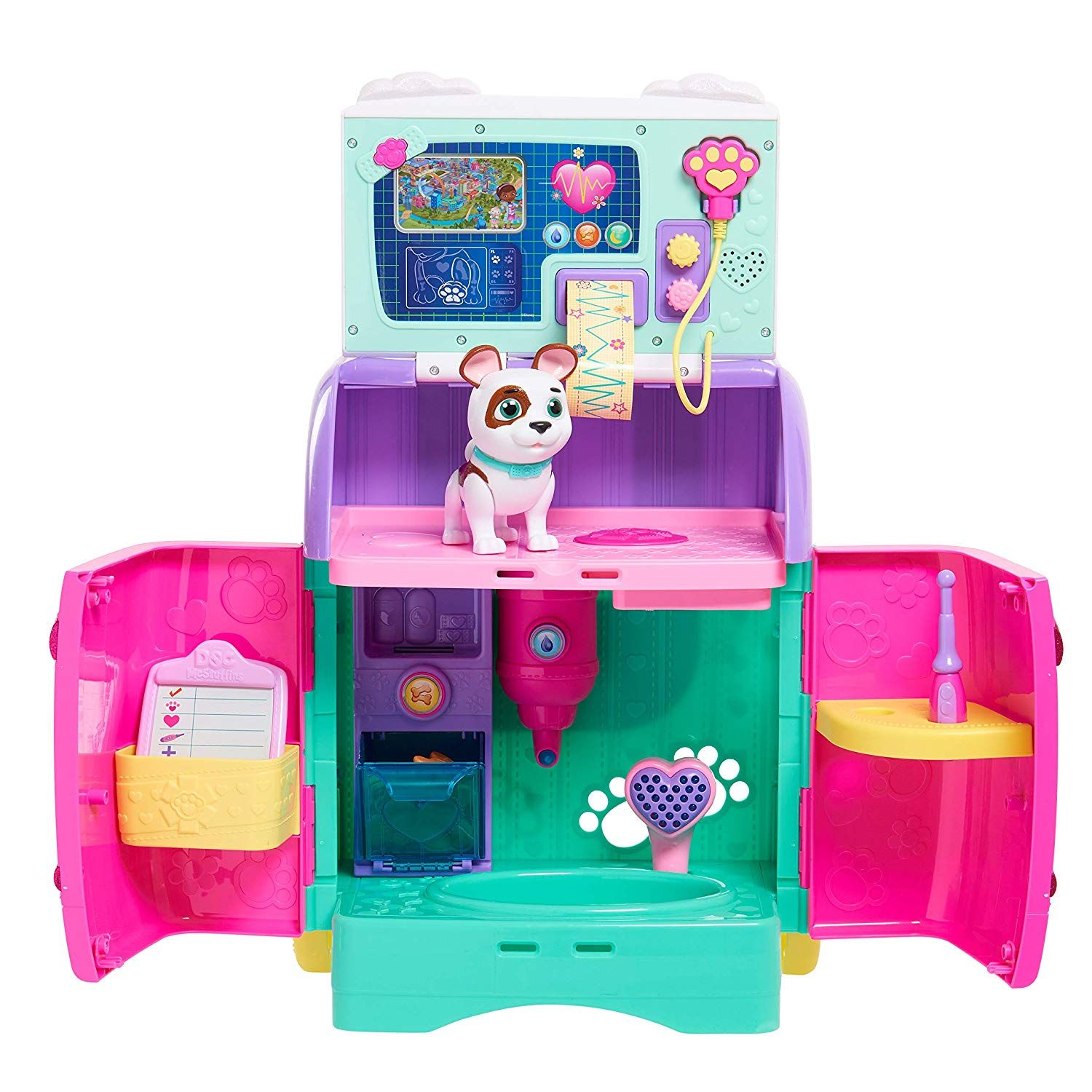 It S Doc Mcstuffins To The Pet Rescue The Newest Theme On The Acclaimed Disney Junior Series Doc Mcstuffins Is Pet Mcstuffins Doc Mcstuffins Baby All In One