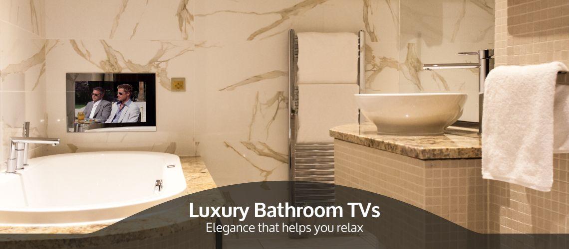 No Ordinary #bathroom #televisions.