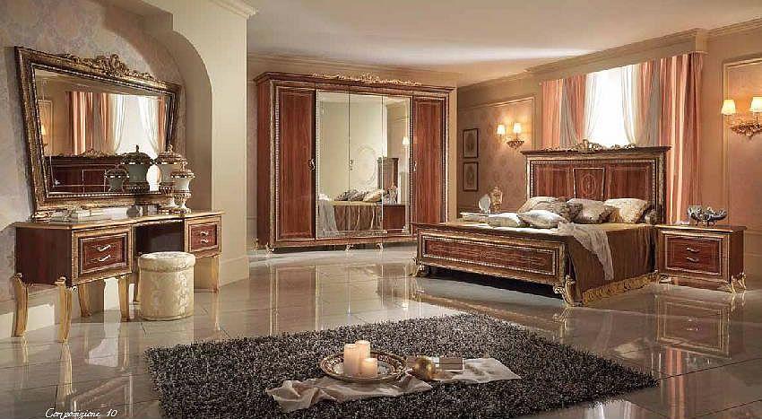 Italienisches-Schlafzimmer-Rokko-Luxus-6-tlg-Bett-komplett-Barock - italienische schlafzimmer komplett
