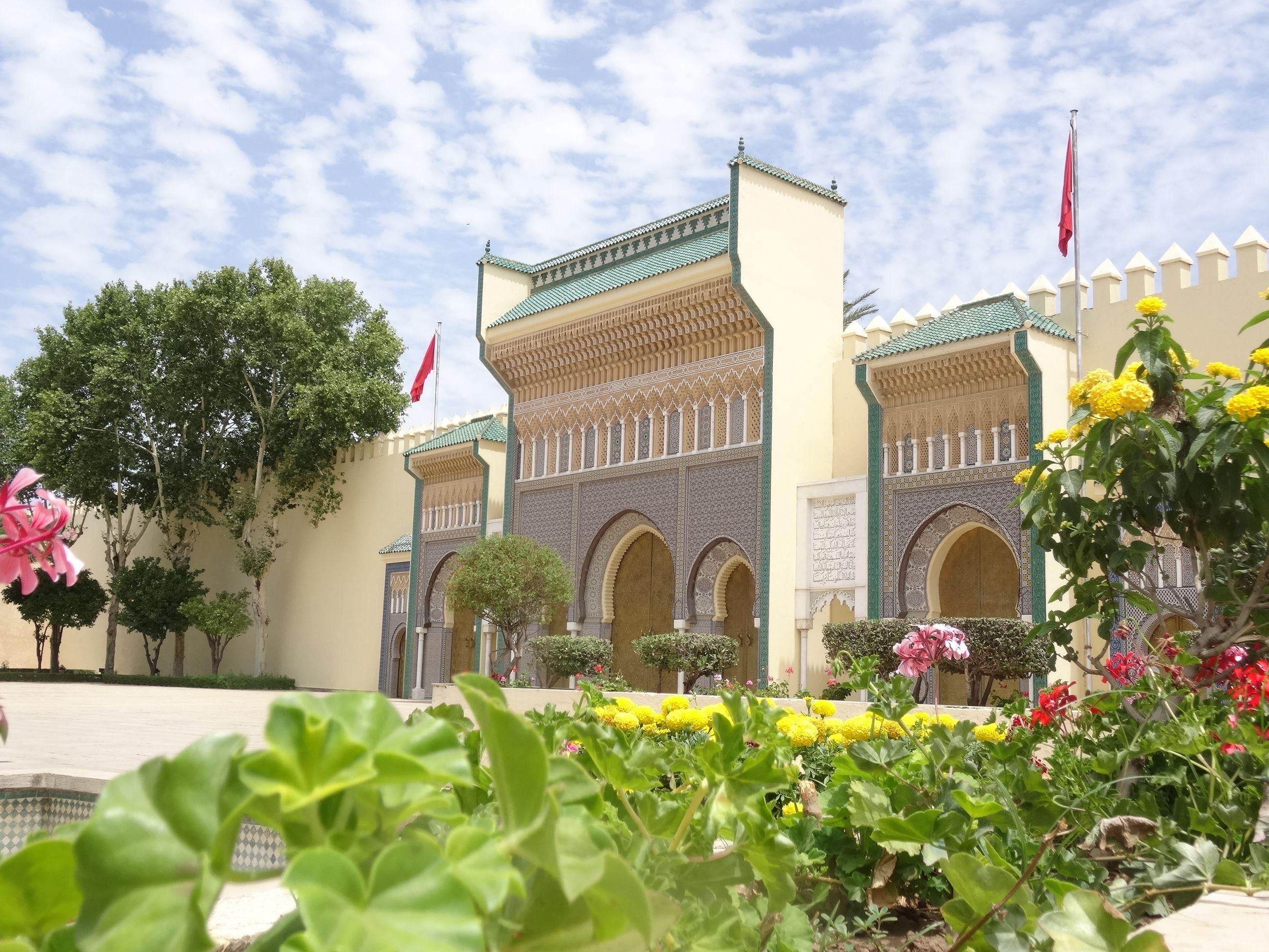 Las puertas del Palacio Real