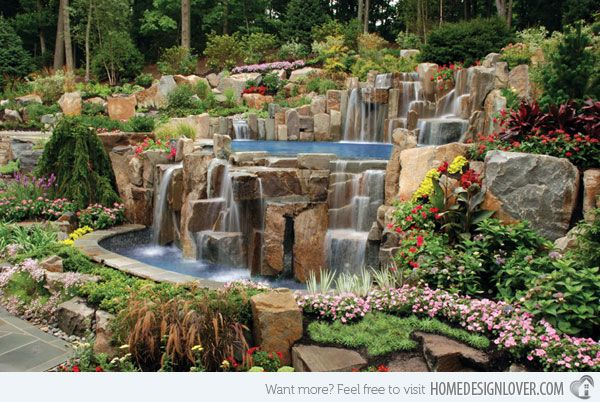 15 Pool Landscape Design Ideas | Landscape designs, Landscaping and ...