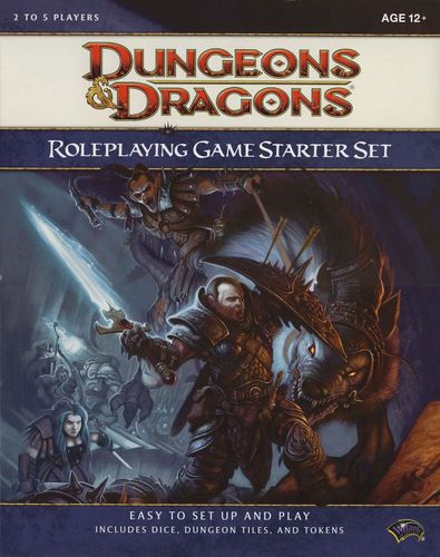 Dungeons Dragons Roleplaying Game Starter Set Not Horrible But