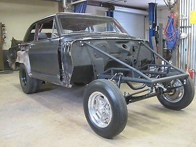 Nickey Vintage style Straight Axle Nova Gasser Funny Car sub frame ...