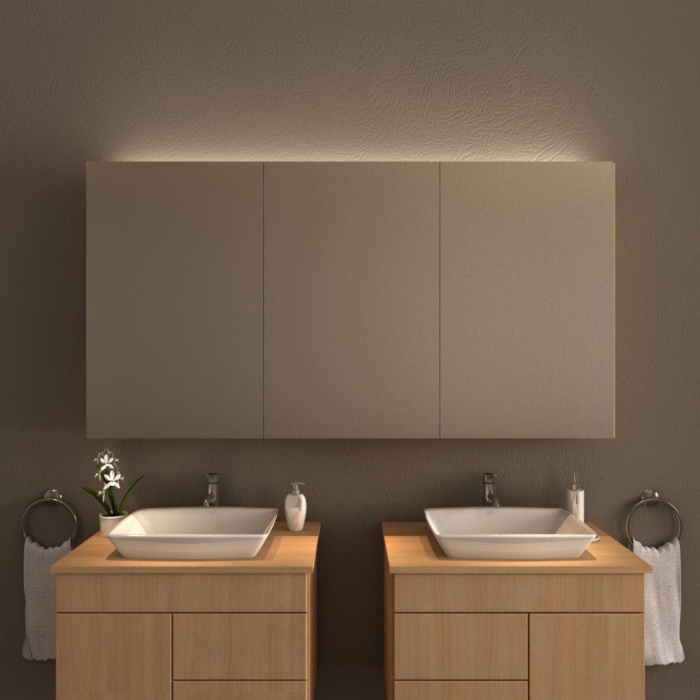 Spiegelschrank Bad Mit Deckenbeleuchtung In 2020 Spiegelschrank Beleuchtung Badezimmer Spiegelschrank Mit Beleuchtung Badezimmer Spiegelschrank