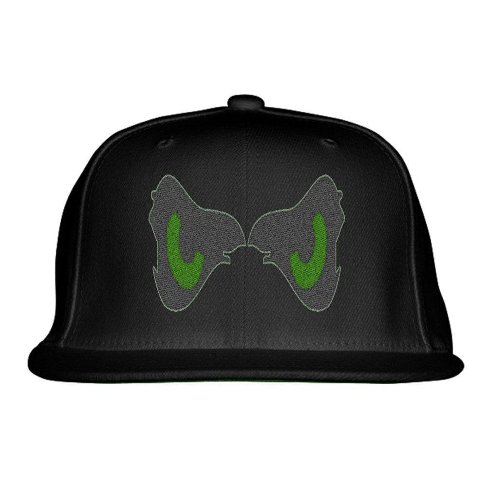 Eagle Eyes Embroidered Snapback Hat