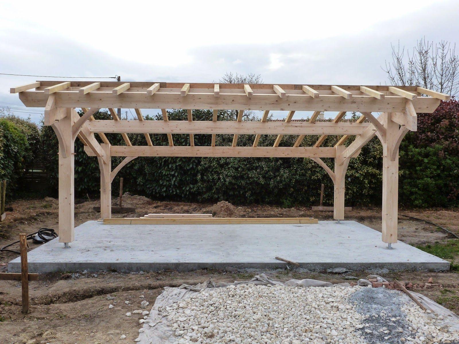 Abris de jardin bois / Carport voitures bois / Garage Bois