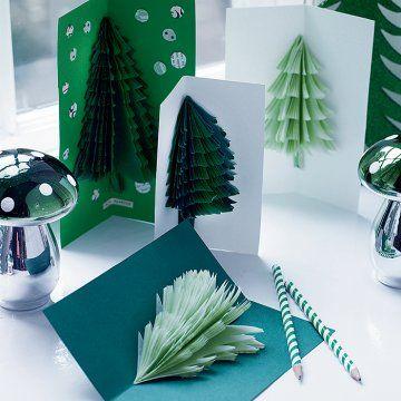 Des cartes de Noël en relief | Carte noel, Cartes de noël