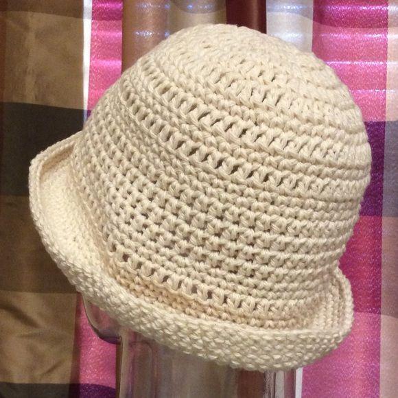 100% cotton brim hat | Crochet - beanie, beret, cap, hat | Pinterest