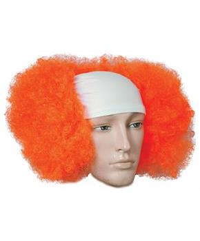 Bald Curly Clown Orange Costumepub Com Halloween Wigs Clown Wig Rainbow Wig