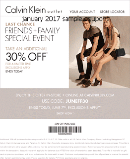 photo relating to Calvin Klein Printable Coupon identify Calvin Klein Coupon codes no cost printable discount codes january 2017