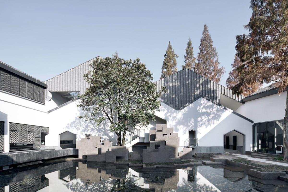Atelier Li Xinggang Xia Zhi Jixi Museum Jixi China Architecture Minimalist Architecture