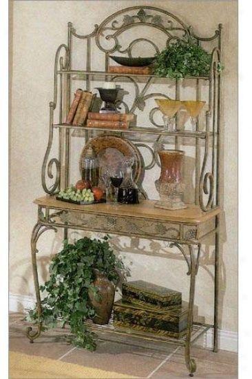 16433789058 Merlot Baker S Rack Adds Bakers Decorating Tuscan
