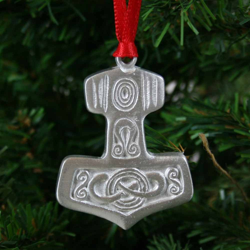 Thor\'s Hammer Ornament - Pewter | Norse & Viking | Pinterest | Thors ...