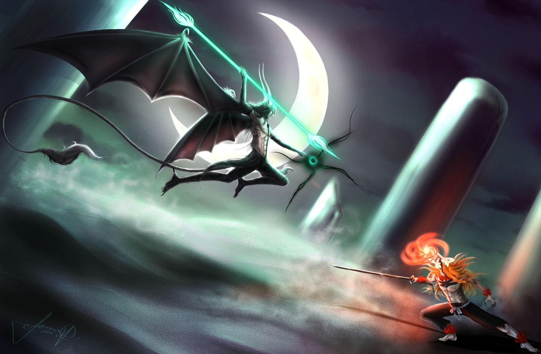 Imagem De Anime Por Ryan Kellum Bleach Anime Ulquiorra Cifer