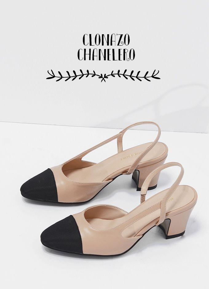 Sin duda el zapato del deseo de la temporada. Los Chanel slingbacks molan y  nosotras hemos dado con el clon perfecto (y barato). 80e3a28a1d1