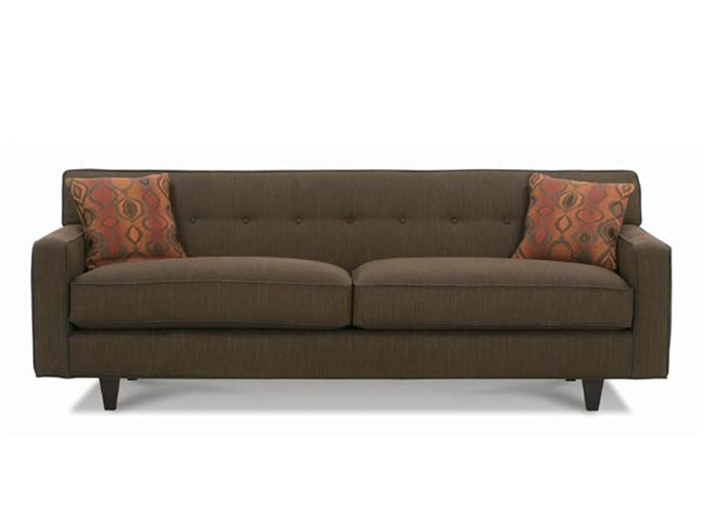 Rowe Living Room Dorset Two Cushion Long Sofa K520k Hamilton Leather Gallery