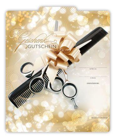 K204 Geschenkgutscheine Fur Die Friseurbranche Ein Gutschein Fur