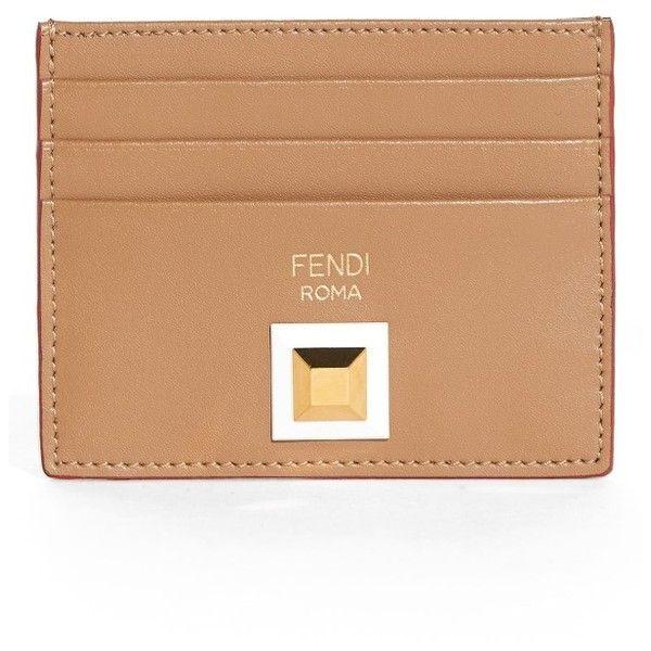 Fendi Rainbow card-holder wallet 3TxtZAeYj