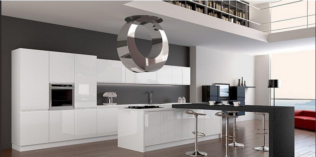 high-tech kitchen interior design | smart furniture | pinterest