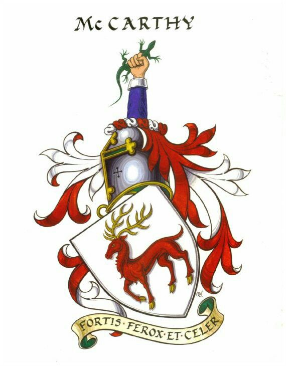 McCarthy coat of arms | Tattoo ideas | Coat of arms, Family
