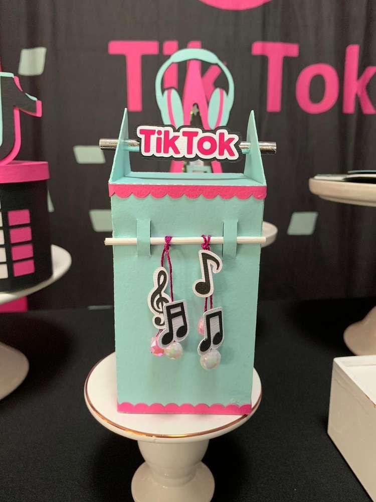 Tik Tok Birthday Party Ideas Photo 1 Of 13 Birthday Surprise Party 12th Birthday Party Ideas 13th Birthday Party Ideas For Girls