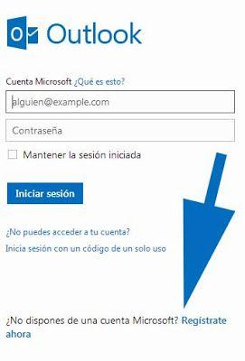 #Hotmail Iniciar Sesion