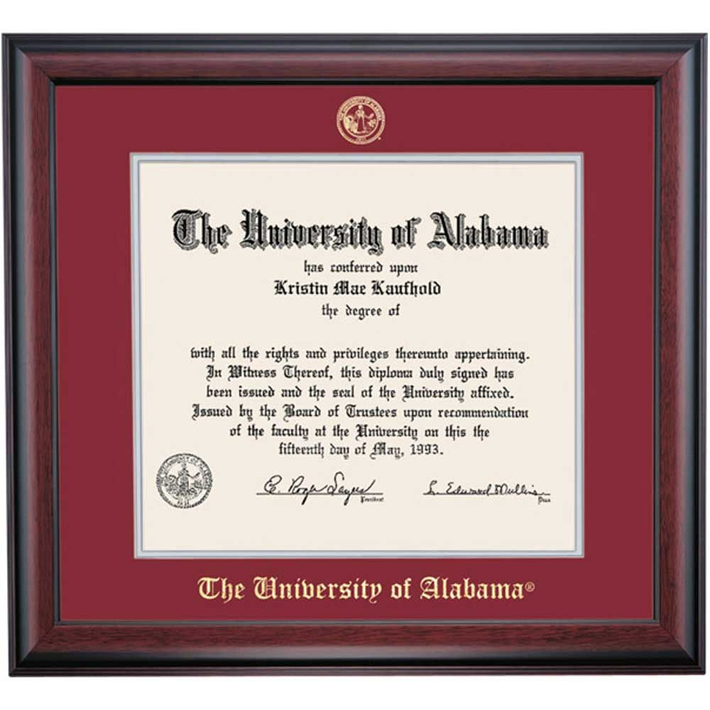 Alabama School Color Traditional for Law Degree | | OCM.com | Gifts ...