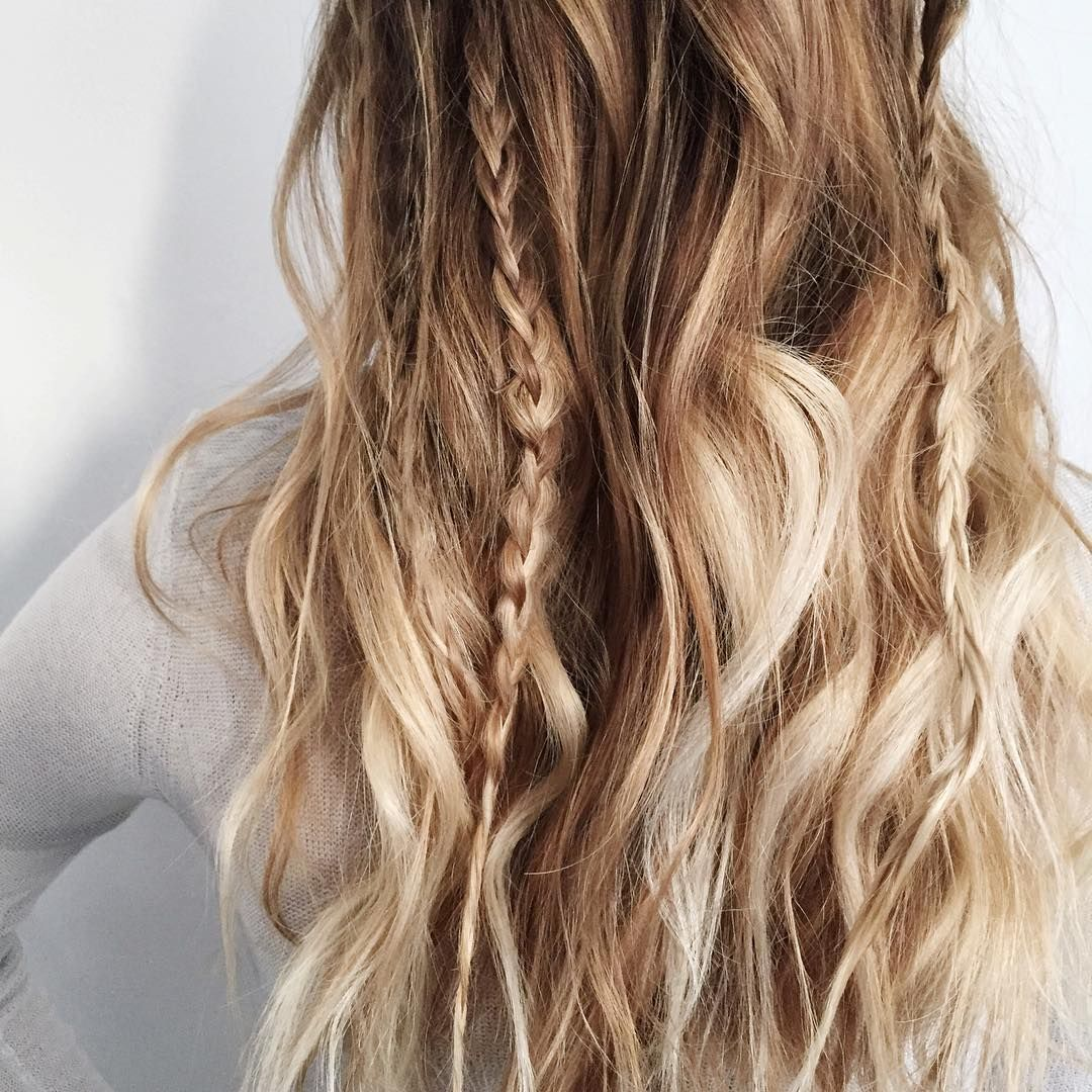 Braid color combo inspiration for summer braided waves kristin