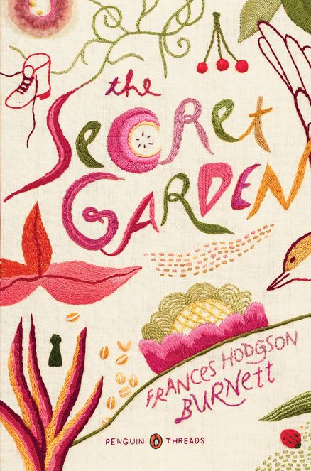 Gorgeous holiday edition of The Secret Garden