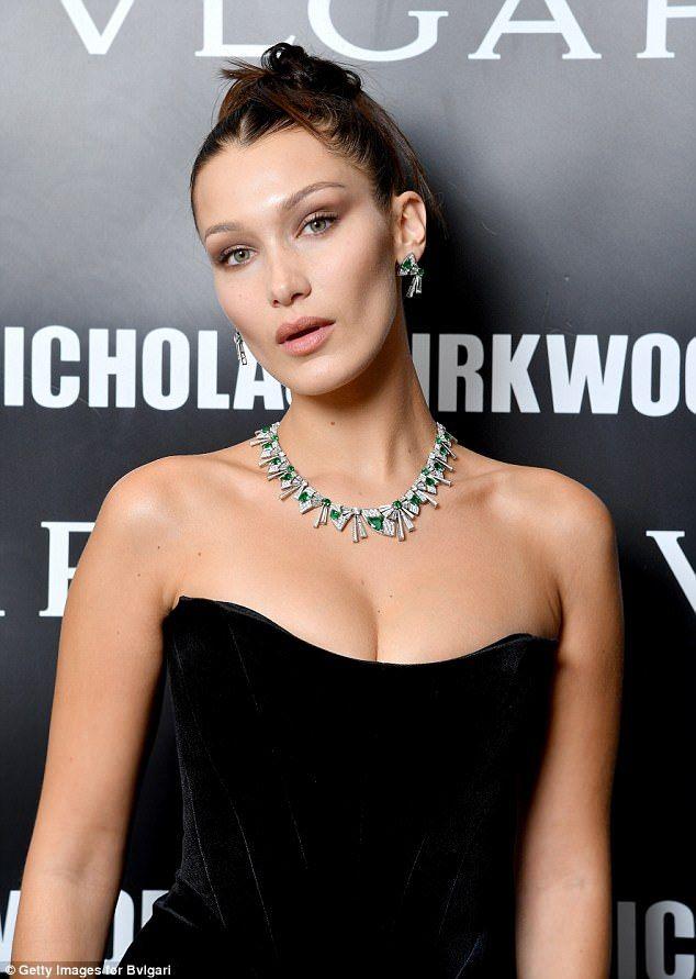 Bella Hadid éblouit lors de la soirée Bvlgari lors de la Fashion Week de Milan   – Bella