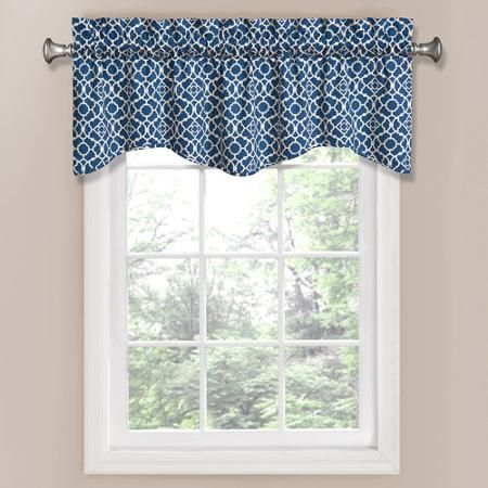 Room Waverly Lovely Lattice Window Valance