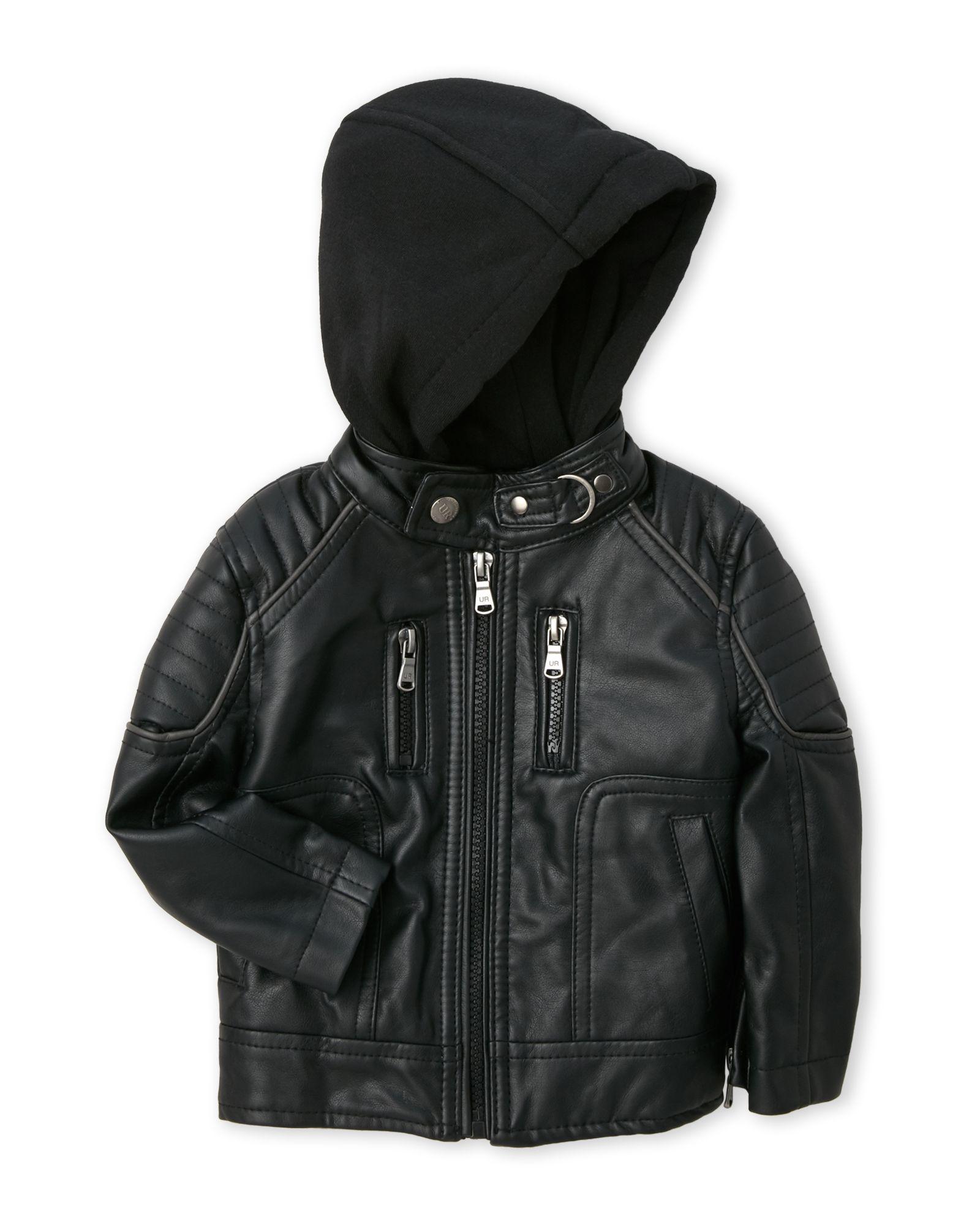 Urban Republic Infant Boys Faux Leather Motorcycle Jacket Faux Leather Motorcycle Jacket Jackets Sweatshirt Jacket [ 2000 x 1600 Pixel ]